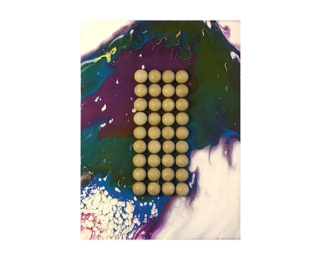 Настенное панно Bubbke с бетоном